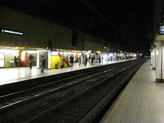 Saint michel m tro station flickr photo sharing - Saint michel paris metro ...
