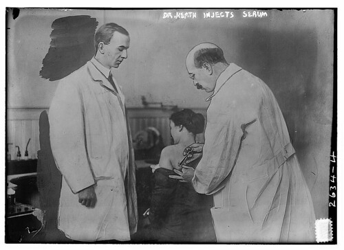 Dr. Heath injects serum [human]  (LOC)