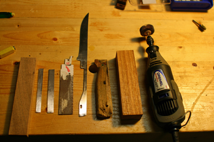 knife making repair 1 replacing a kitchen knife handle by johngoes. Black Bedroom Furniture Sets. Home Design Ideas