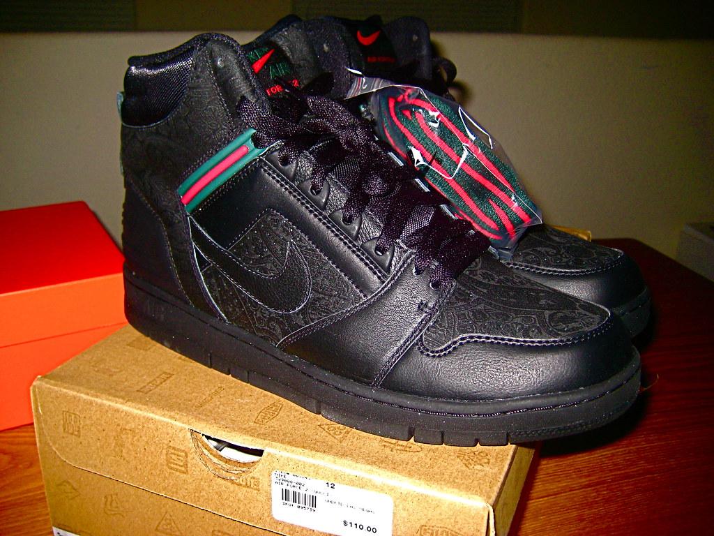 8a57f0bc8c5a ... Nike air force 2 High (Gucci)