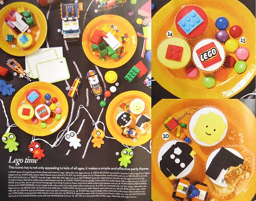shop 4 kids magazine! lego party! + close up
