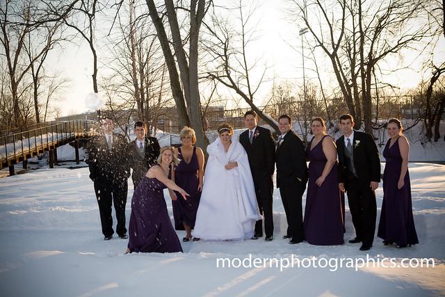 Свадьба зимой - это сказочно!