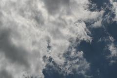 Clouds, blue skies, sky