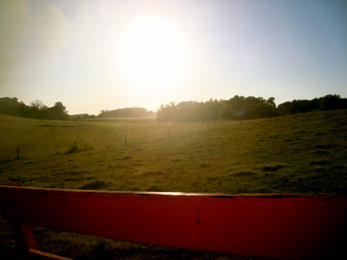 sunset sun outdoors hayride maplelanefarms