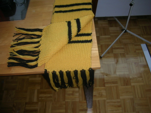 Hufflepuff Scarf Knitting Pattern : Hufflepuff Scarf Flickr - Photo Sharing!