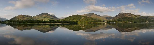 Ullswater Reflections Panorama