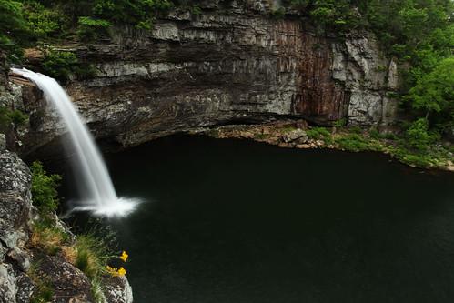 waterfall alabama lookoutmountain desotofalls desotofallsstatepark may2011