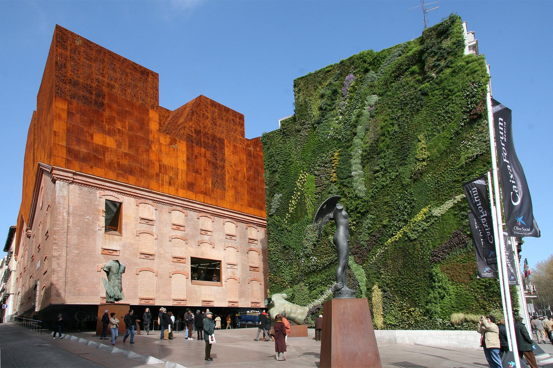 Caixa forum art exhibition madrid flickr photo sharing - Steel framing espana ...