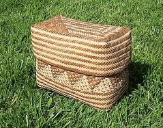 grass, wicker, lawn,