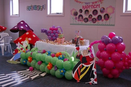 Alice in wonderland Theme - 1st Birthday