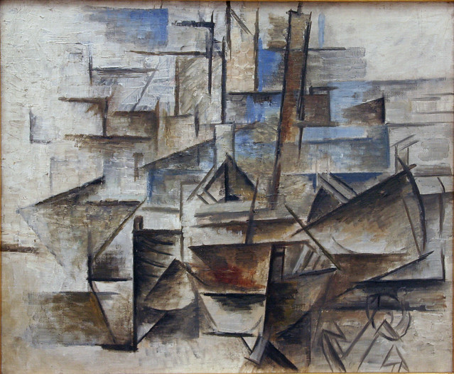 Pablo Picasso - The Port at Cadaques | Flickr - Photo Sharing!