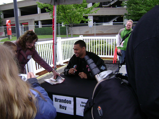 Brandon Roy @ Rose Festival