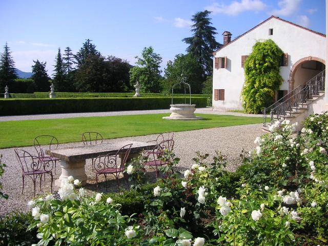 Villa Emo's garden, Italy
