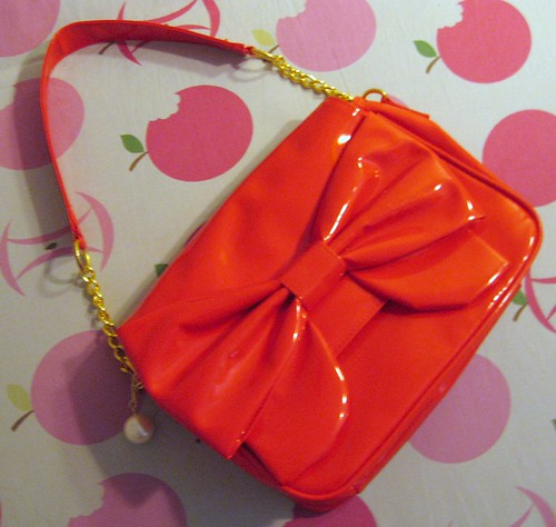 Swimmer red purse