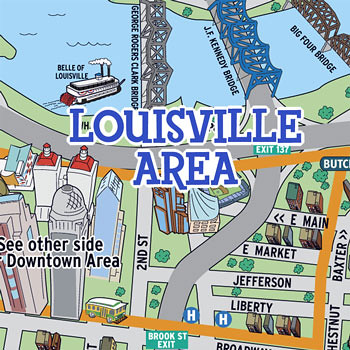 Louisville Explorer Map  Flickr  Photo Sharing