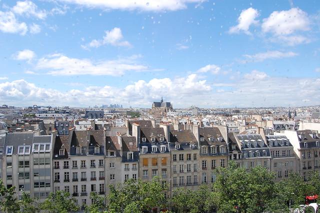 Paris nach dem Regen