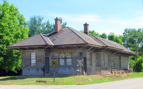 Cumberland Furnace, TN Depot color