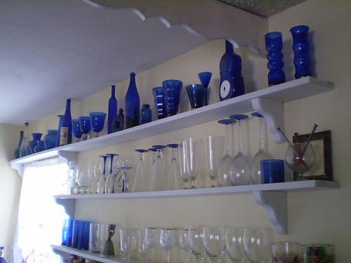 Idee in blu per arredare casa