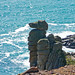 Rock outcrop at Trewavas Head 2