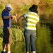 Fishing at Almaden Lake