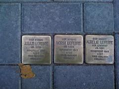 Julius, Horst und Aurelie (geb. Lewinsky) Lefebre