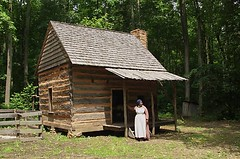 The Duckett Log Cabin