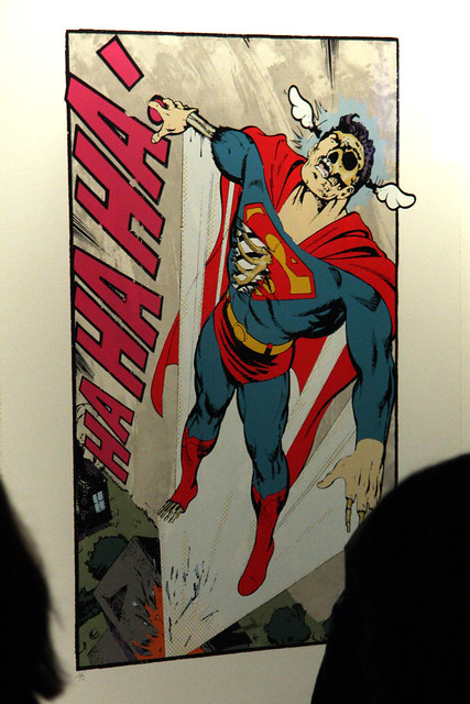 Ha Ha Ha, Not so Superman - print