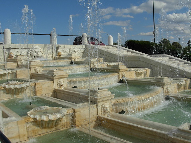 Side Fountain
