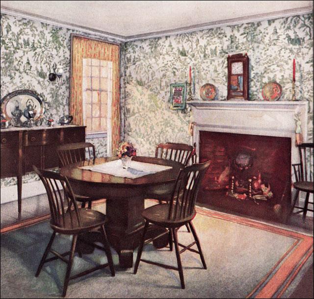 1926 traditional dining room flickr photo sharing for Interior design 75063