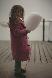 Candyfloss on Brighton Pier