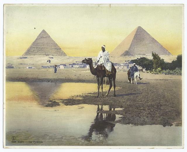 Cairo : the pyramids.