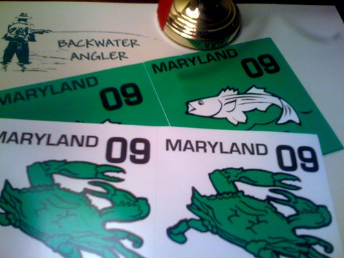 09 maryland fishing licenses available backwater angler for Md fishing license