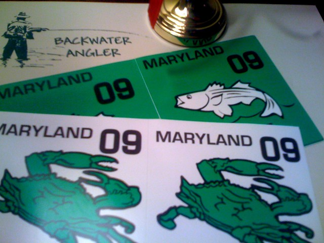 Maryland Department Natural Resources Fishing License