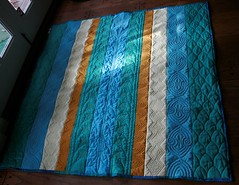 Whole quilt in natural light
