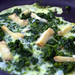 Egg Whites With Spinach and Taleggio