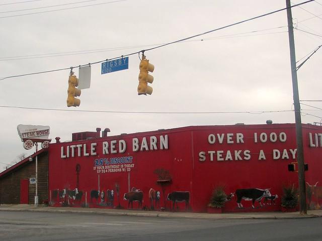 Little Red Barn Restaurant San Antonio Texas