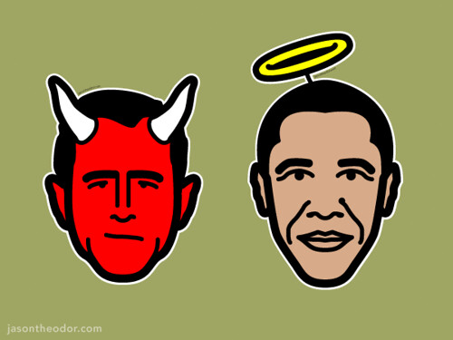 Bush vs. Obama