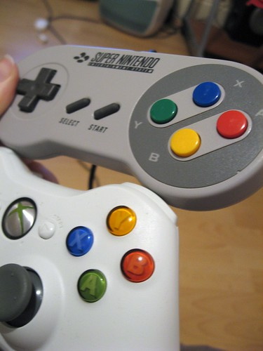 SNES vs. Xbox Triple60