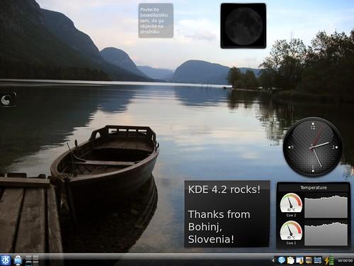 KDE 4.2 Desktop
