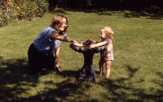 Aunt Karen and Geoffrey