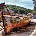 Barcaza abandonada by ibzsierra