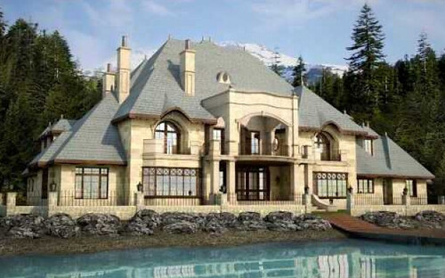 Lake tahoe nevada mansion drops price by 25 million for Luxury lake tahoe homes for sale
