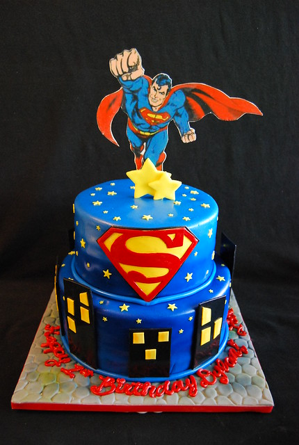 Superman Cake Design Goldilocks : Superman Cake Flickr - Photo Sharing!