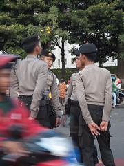 Police square