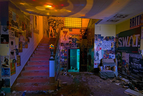 abandoned night dallas texas rehearsal studios dlp