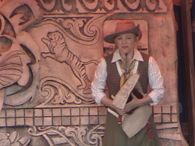 Indiana Jones™ and the Secret of the Stone Tiger Revealed!, Aladdin's Oasis, Adventureland, Disneyland®, Anaheim, California, 2008.05.26 15:20