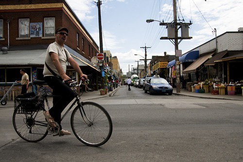 Toronto | Biking in Kensington Market
