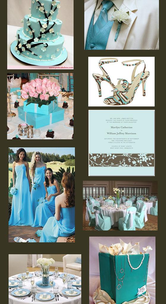 Weddingzilla: Tiffany Blue Wedding Theme