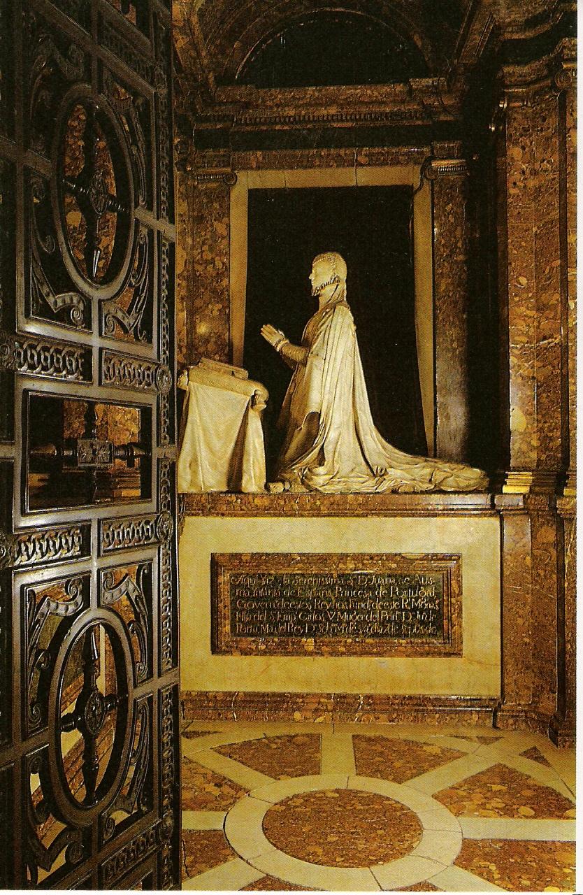 Sepulcro de Juana de Austria
