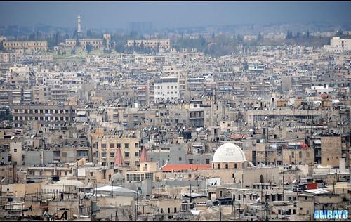 Glimpse of Aleppo